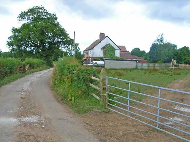House on the lane to Holtwood, Doveridge