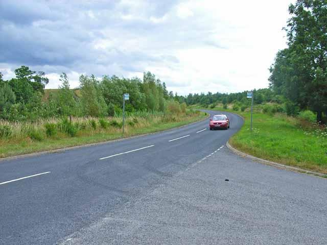 Old main road between Doveridge and Sudbury