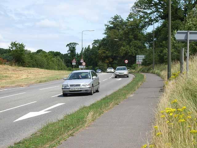 A515 at Oaks Green