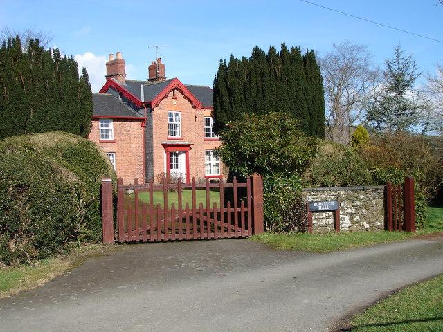 Bodaioch Hall, Trefeglwys
