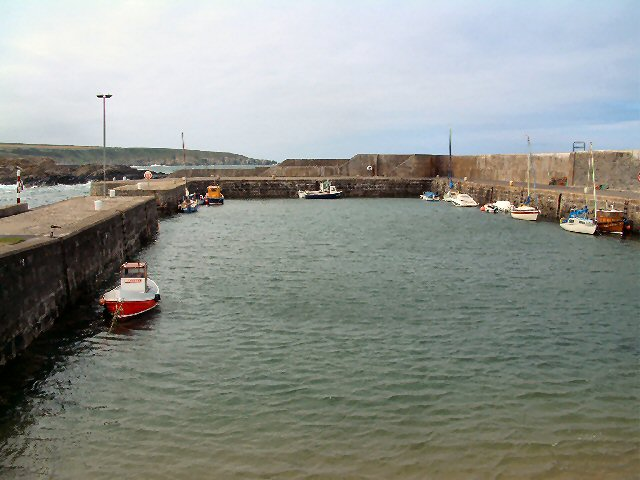 Portsoy New Harbour