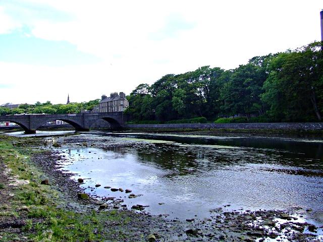 Wick Road Bridge on the River Wick