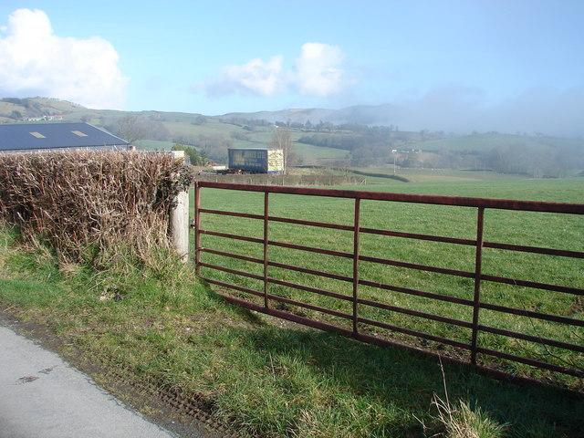 Farm Gate, Pen-y-ffynyon Farm