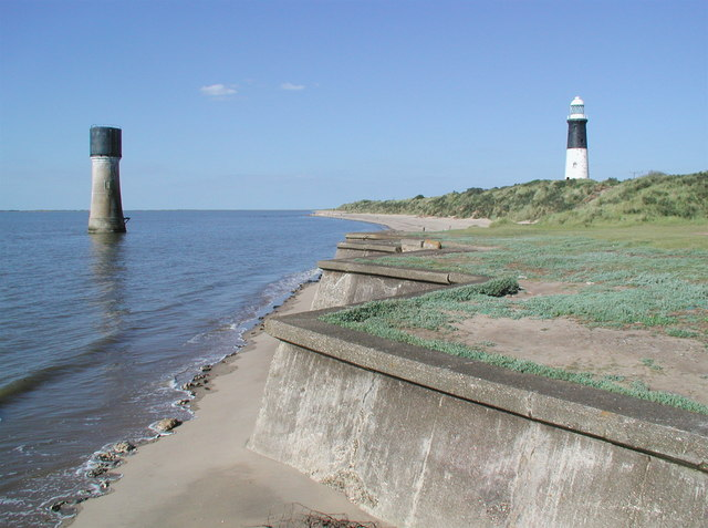 Lighthouses at Spurn Head