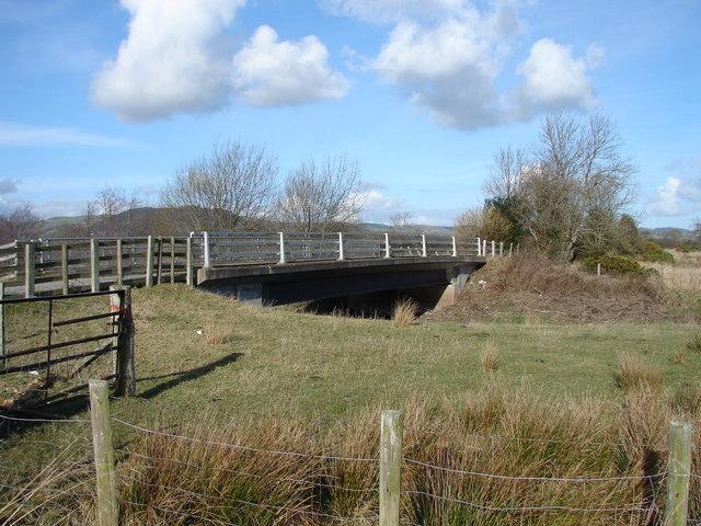Bridge over Afon Cerist, near Caersws