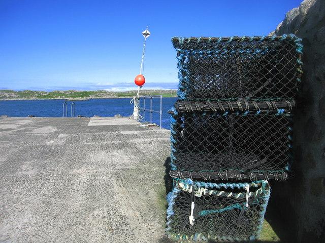 Arinagour Pier, Coll