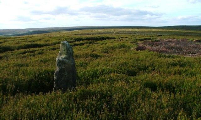 Unmapped Stone, Bilsdale East Moor