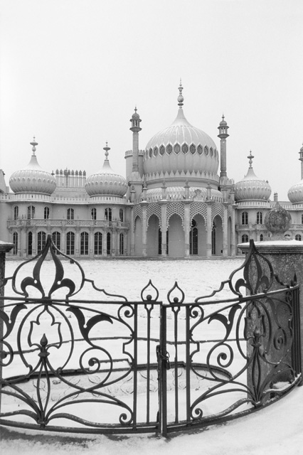 Royal Pavilion Brighton, in Snow