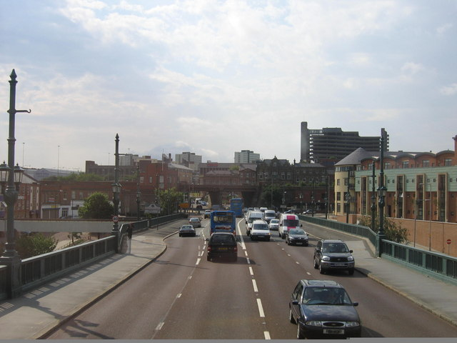 Entering Gateshead