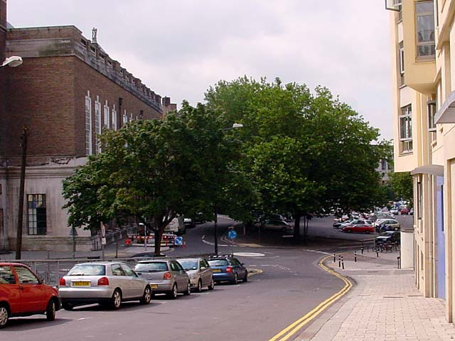 Car Park and Back of Council Buildings