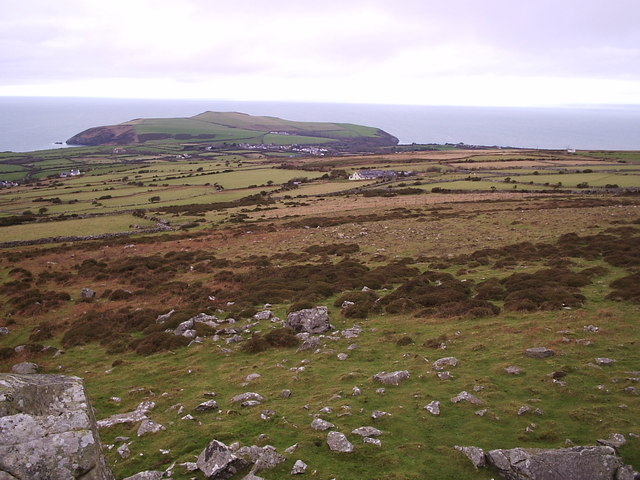 View from Carn Enoch, looking north