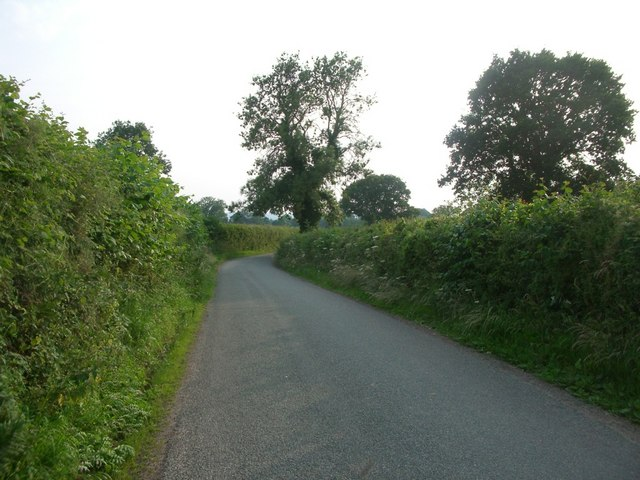 Lane near Bouldon