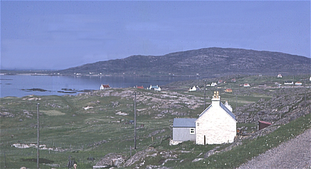 Crofts on Eriskay