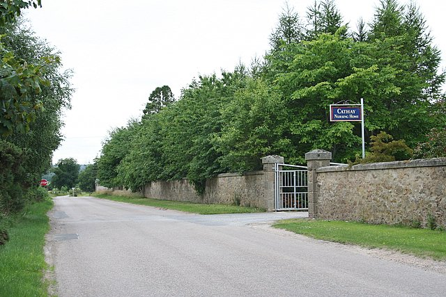 Cathay Nursing home, Morayshire.