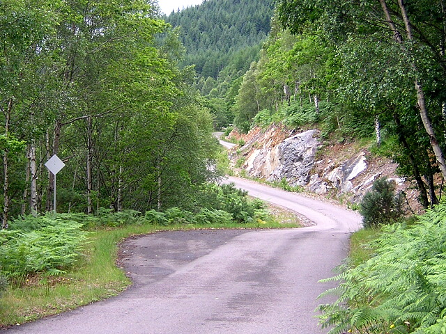 Road Along North Side of Loch Arkaig