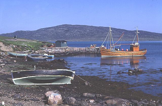 Eriskay Pier