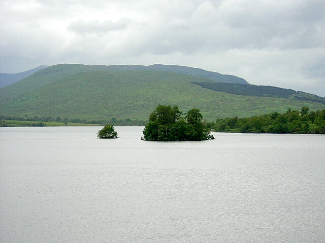 Eilean Loch Airceig and An t-Eilean Beag