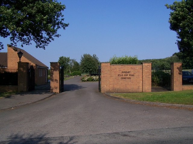 Entrance To Rugeley Cemetery