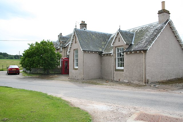 The old school at Darnaway.