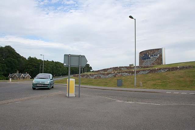 The Enterprise Park just off the Tarras roundabout, Morayshire.