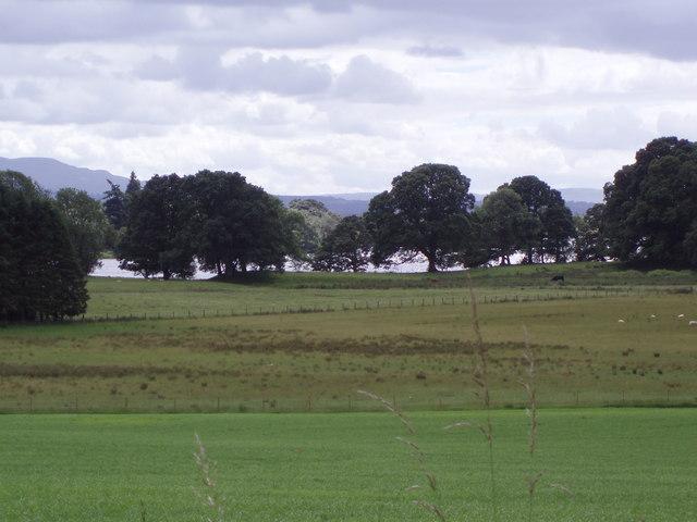 Farmland by Lake of Menteith