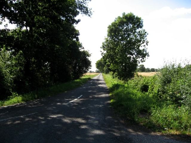 The Paved Lane to the A163