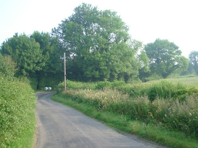 Lane near Blackwood Farm