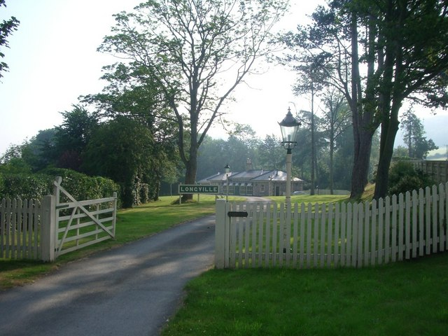 The former railway station at Longville