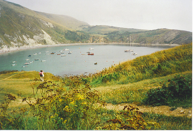 Lulworth Cove from the West.