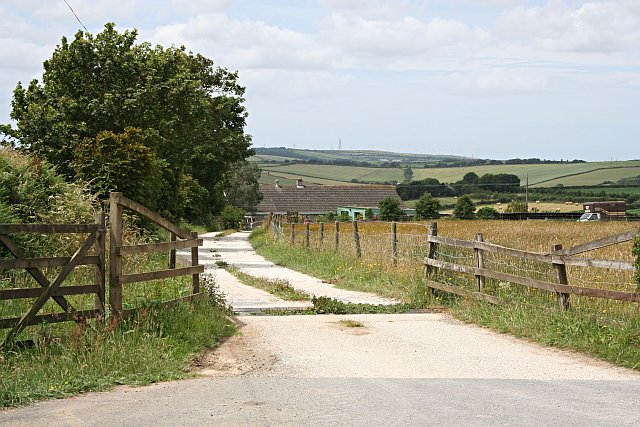 Track to Great Hewas Farm