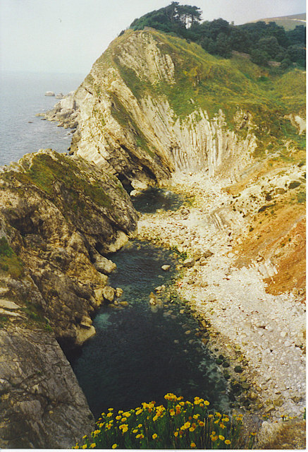 Stair Hole from the East.