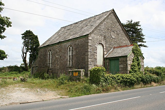 Disused Methodist Church by Scarcewater Farm