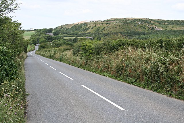 Road and Spoil Heap