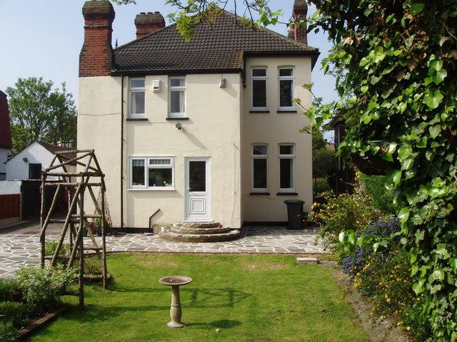Edwardian House - rear garden