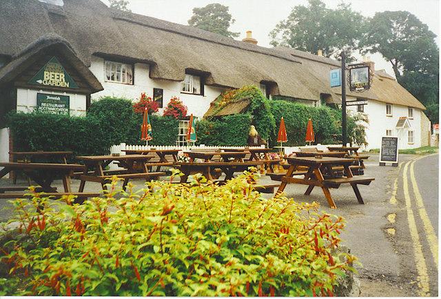 The Castle Inn, West Lulworth.