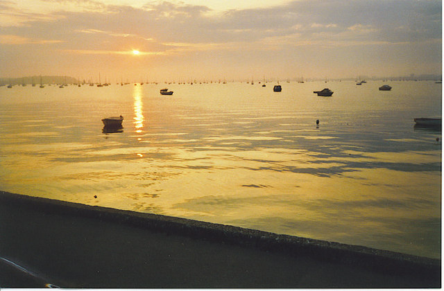 Poole Harbour.