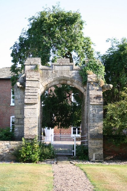 14th century gateway