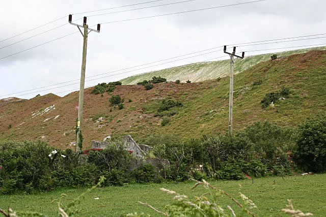 Spoil Heaps from the China Clay Industry