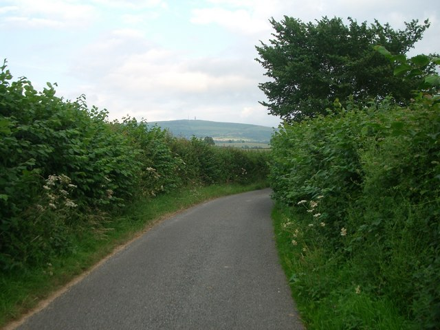 The lane from Broadstone to Tugford