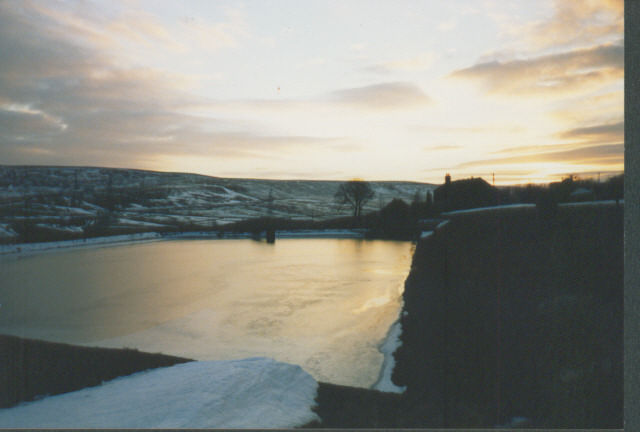 Abandoned reservoir, Blackhouse