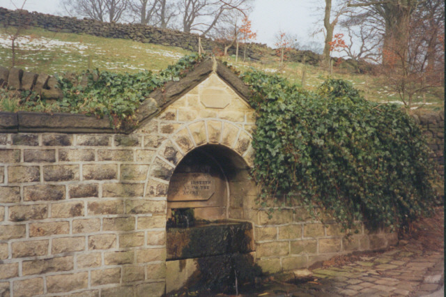 Fountain near Triangle