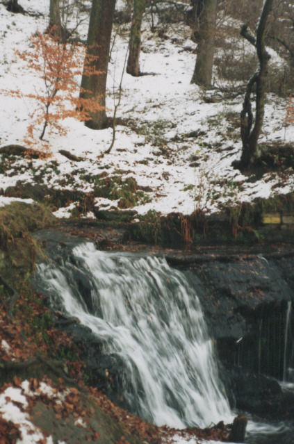 waterfall near Royds Hall