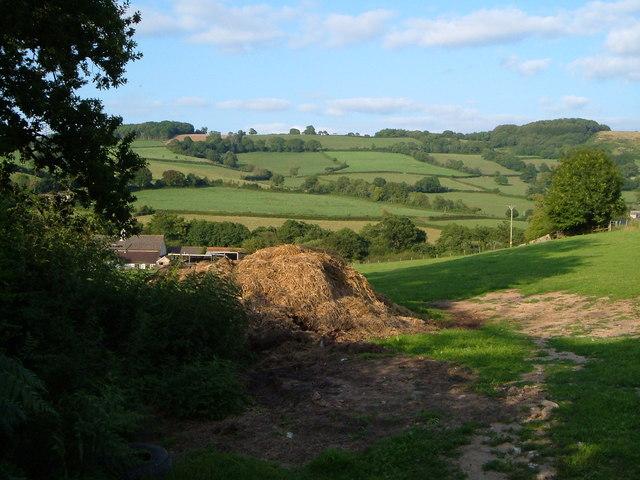 View near Smallicombe Farm