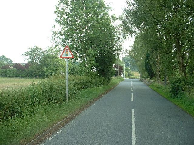 Road junction - B5430