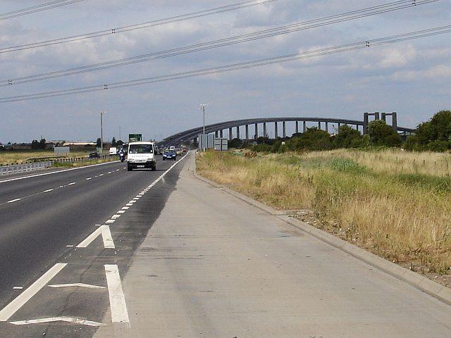 New bridge in action