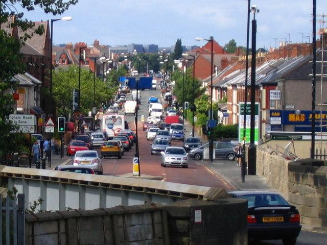 Chillingham Road Foreshortening