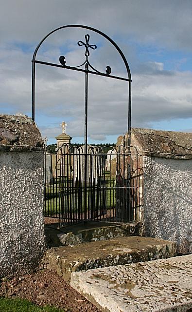Gate, St Ninian's Cemetery