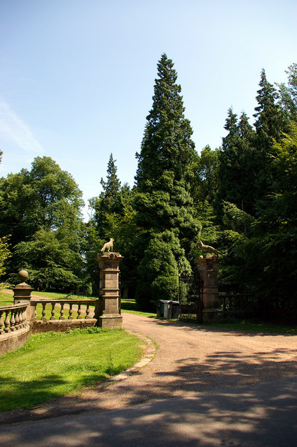 Entry to Girsby Manor