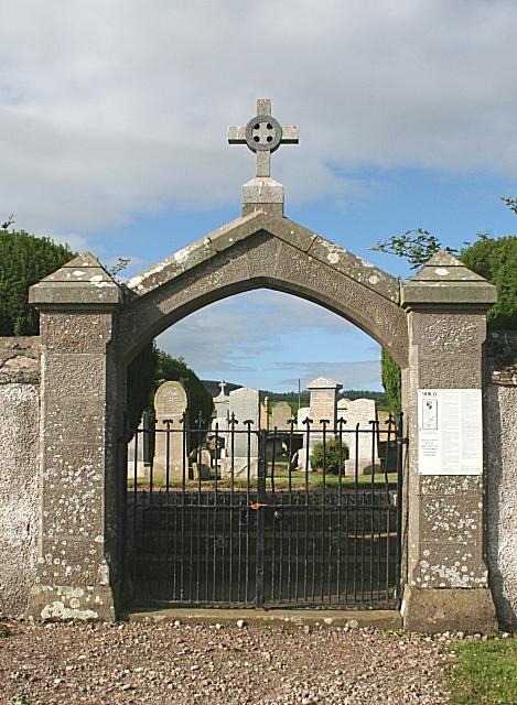 Gateway, St Ninian's Cemetery