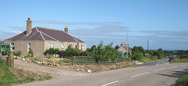 Cottages, Braes of Enzie